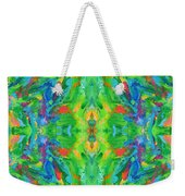 Aztec Kaleidoscope - Pattern 025 Weekender Tote Bag