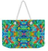 Aztec Kaleidoscope - Pattern 026 Weekender Tote Bag
