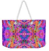 Aztec Kaleidoscope - Pattern 032 Weekender Tote Bag