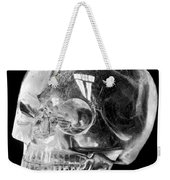 Aztec Rock Crystal Skull Weekender Tote Bag