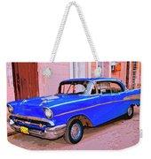 Azul Cobalto Weekender Tote Bag