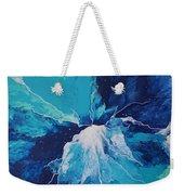 Azure Impulse  Weekender Tote Bag