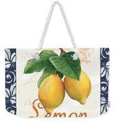 Azure Lemon 1 Weekender Tote Bag
