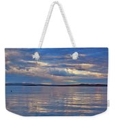 Azure, Pink And Reflections 2 Weekender Tote Bag