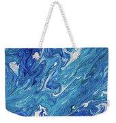 Azure Transfusions Of Ocean Waves Fragment  Weekender Tote Bag