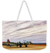 B-17 Aluminum Overcast - Bomber - Cantrell Field Weekender Tote Bag