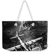 B-17 Bomber Over Germany  Weekender Tote Bag
