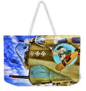 B-17 Paint  Weekender Tote Bag