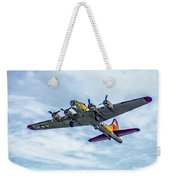 B-17g Flying Fortress In Flight  Weekender Tote Bag
