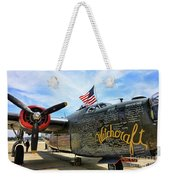 B-24j Witchcraft Wwii Weekender Tote Bag