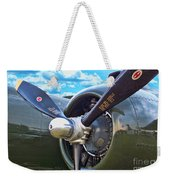 B-25 Engine Weekender Tote Bag