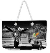 B-25 Mitchell Infrared Weekender Tote Bag