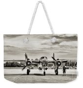 B-25j Mitchell Wwii Aircraft Weekender Tote Bag