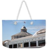 B And O Railroad Museum In Baltimore Maryland Weekender Tote Bag