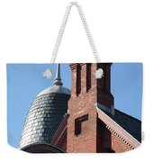 B And O Railroad Station In Oakland Maryland Weekender Tote Bag