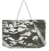 B And W Weekender Tote Bag