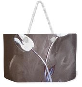 B And W Tulips Weekender Tote Bag