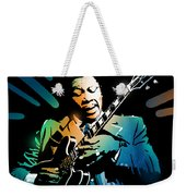 B B King Weekender Tote Bag