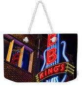 B B Kings On Beale Street Weekender Tote Bag