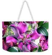 B Exton  Flowering Of Delights  Bigstock 164301632  2991949 Weekender Tote Bag