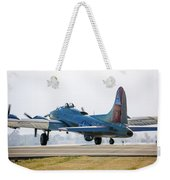 B17 Flying Fortress Cleared For Takeoff At Livermore Weekender Tote Bag