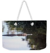 Babcock Wilderness Ranch - Alligator Long Profile Weekender Tote Bag
