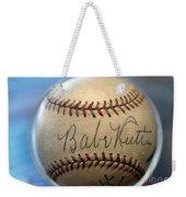 Babe Ruth Baseball. Weekender Tote Bag