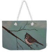 Baby Bird Weekender Tote Bag by Ginny Youngblood