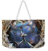 Baby Bluebirds Weekender Tote Bag