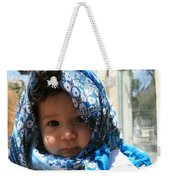 Baby Blues Jerusalem Weekender Tote Bag