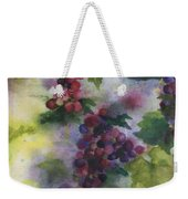 Baby Cabernet I  Triptych  Weekender Tote Bag