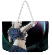 Baby Doll Shoots Back Weekender Tote Bag