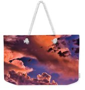 Baby Dragon's Fledgling Flight Weekender Tote Bag