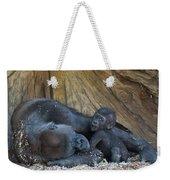 Baby Gorilla Weekender Tote Bag
