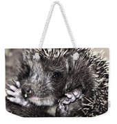 Baby Hedgehog Weekender Tote Bag