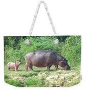 Baby Hippo 1 Weekender Tote Bag