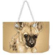 Baby Hyena Weekender Tote Bag
