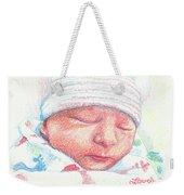 Baby James Weekender Tote Bag