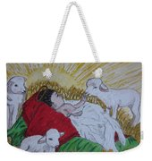 Baby Jesus At Birth Weekender Tote Bag