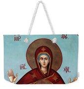 Baby Jesus In Orthodox Church Weekender Tote Bag