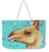 Baby Llama Weekender Tote Bag