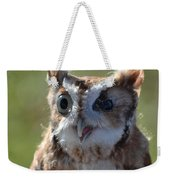 Cute Screetch Owl Weekender Tote Bag