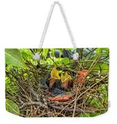Baby Mockingbirds Weekender Tote Bag