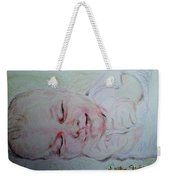 Baby Moses On The River Weekender Tote Bag