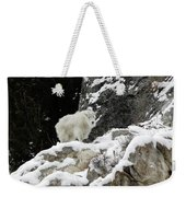 Baby Mountain Goat Weekender Tote Bag