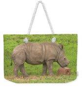 Baby Rhino Chilling Weekender Tote Bag
