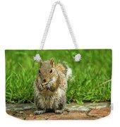 Baby Squirrel's First Peanut Weekender Tote Bag