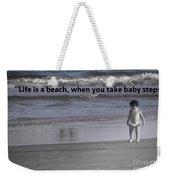 Baby Steps Weekender Tote Bag