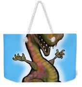 Baby T-rex Blue Weekender Tote Bag