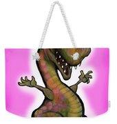 Baby T-rex Pink Weekender Tote Bag